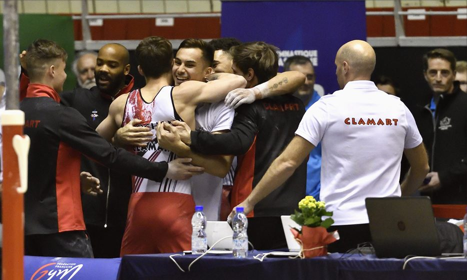 TOP 12 : Clamart Gym 92, vice champion